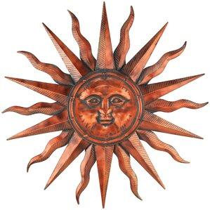 "40"" Copper Patina Sun"
