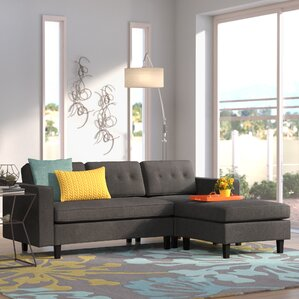Bay Terrace Reversible Sectional by Mercury Row