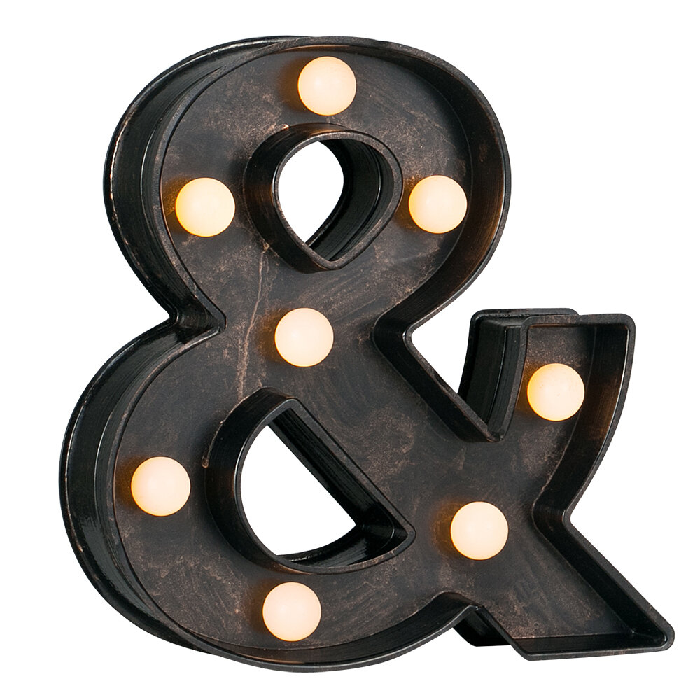 Battery Operated LED Letter Block