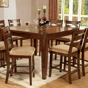 Westbury 9 Piece Counter Height Drop Leaf Dining Set