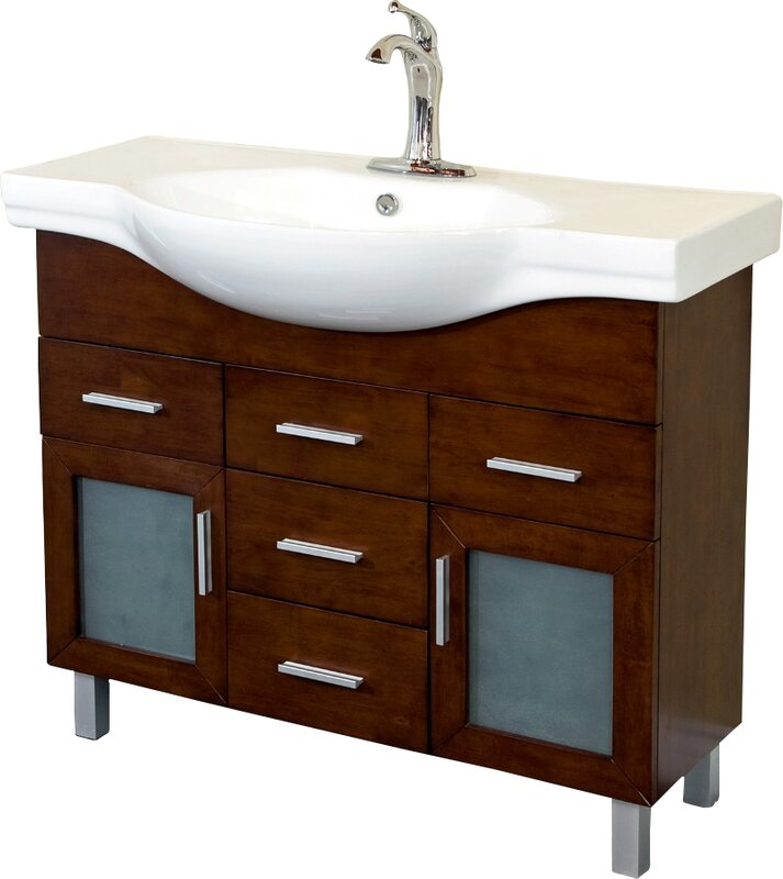 40 Single Bathroom Vanity Set