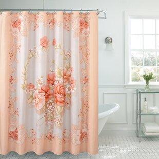Fancy Rosemary Shower Curtain By Daniels Bath