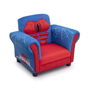Superbe Spider Man Kids Upholstered Club Chair
