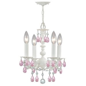 Theroux 4-Light Candle-Style Chandelier