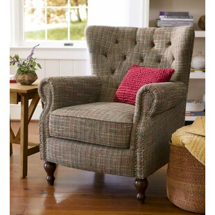 Madison Wingback Chair & Plaid Wingback Accent Chairs Youu0027ll Love | Wayfair