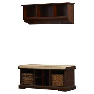 Entryway Shelf And Bench Set | Wayfair