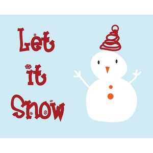 Let it snow! by Secretly Spoiled Graphic Art