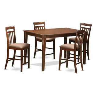 Araminta 5 Piece Counter Height Pub Table Set