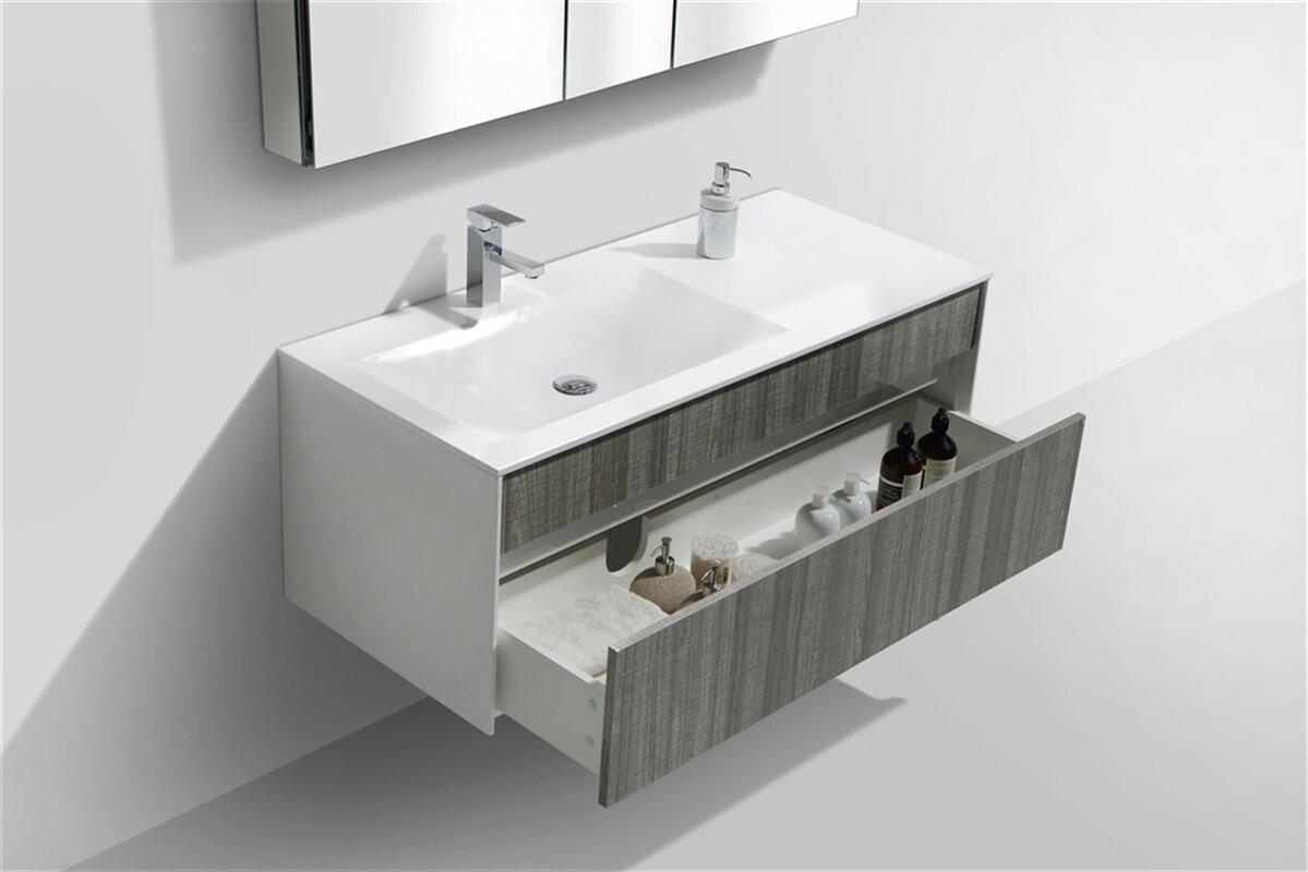 alya bath elite collection aw08230w single modern bathroom