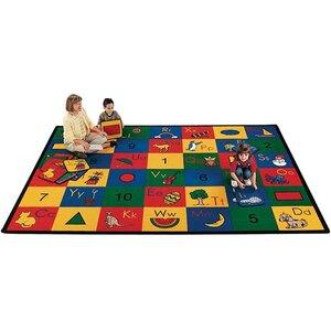Carpet Kits Shape / Number Block Carpet Squares