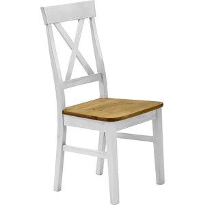 2-tlg. Esszimmerstuhl-Set Kelly aus Massivholz von Sommerallee