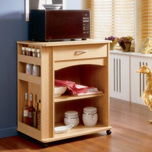 Mazon Microwave Storage Cart by Andover M..