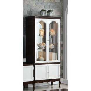 Charmant Tall Glass Door Curio Cabinet | Wayfair