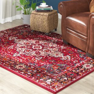 Mcconnell Red Area Rug