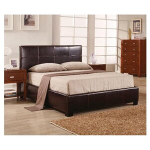 Demeco Upholstered Platform Bed