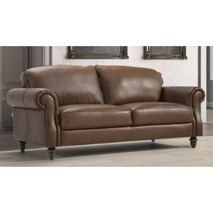 Hazelwood Home Leather Sofas Wayfair Co Uk