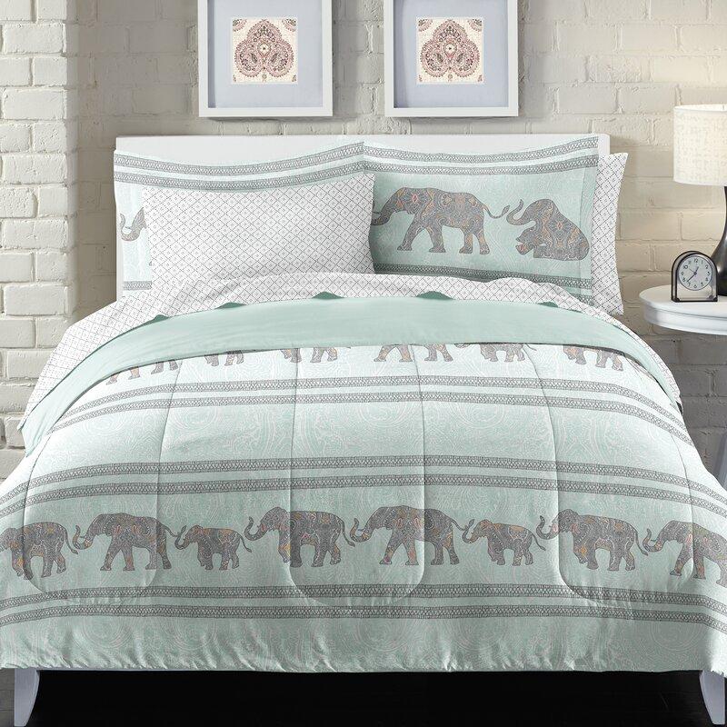 Loft Style Boho Elephant Bed in a Bag Set & Reviews | Wayfair