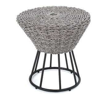 Fawnia Outdoor Wicker End Table
