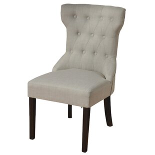 Isley Button Tufted Upholstered Dining Chair