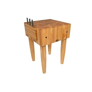 Pro Chef Butcher Block Prep Table