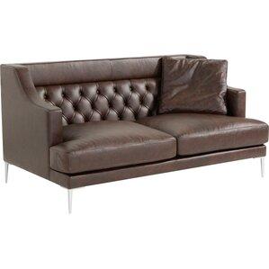 Gertz 5 Piece Leather Living Room Set