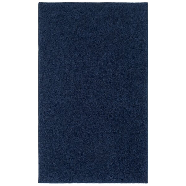 Fabulous Viv + Rae Anika Midnight Navy Blue Area Rug & Reviews | Wayfair GS66
