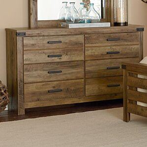 Bilbo 6 Drawer Double Dresser by World Menagerie