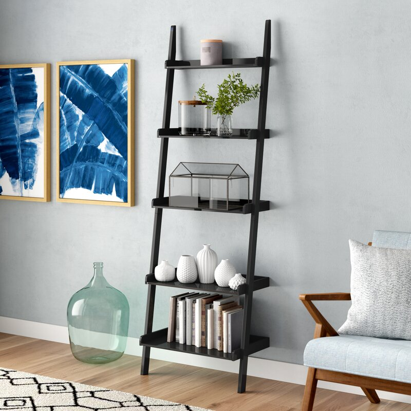 Brayden Studio Marinez Ladder Bookcase Amp Reviews Wayfair