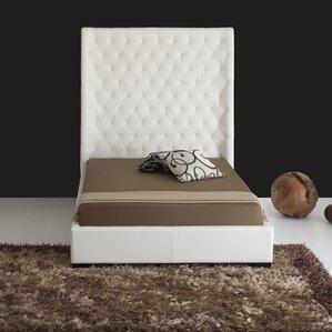 Penthouse Upholstered Platform Bed by Hokku Designs