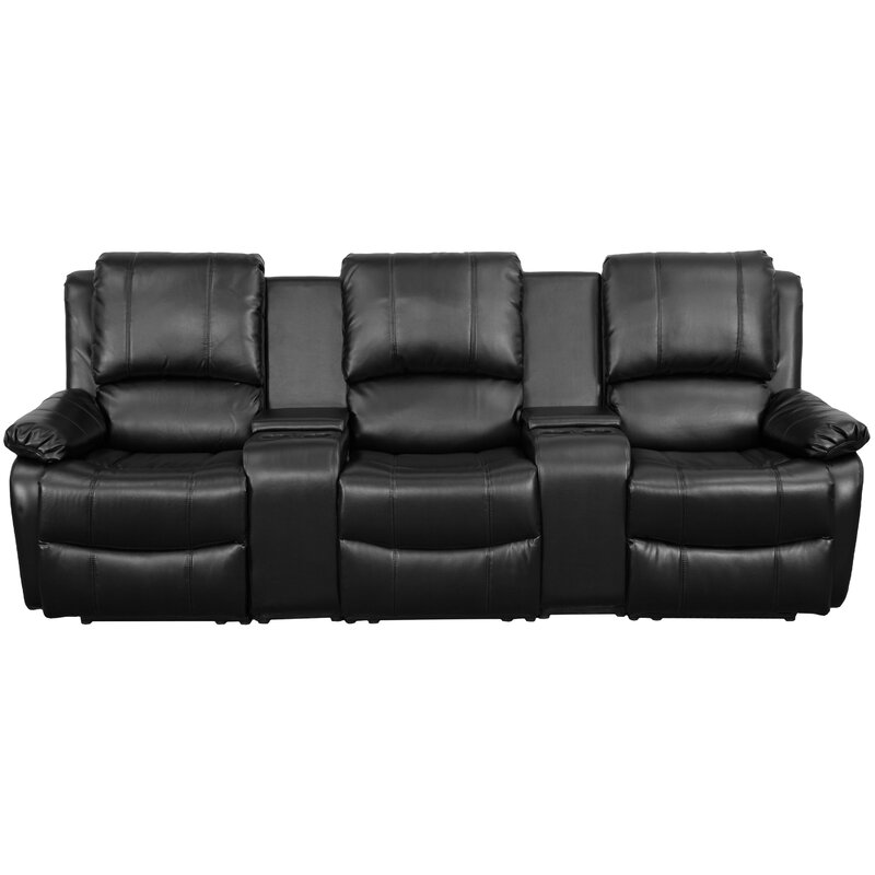 Genial Leather Home Theater Sofa