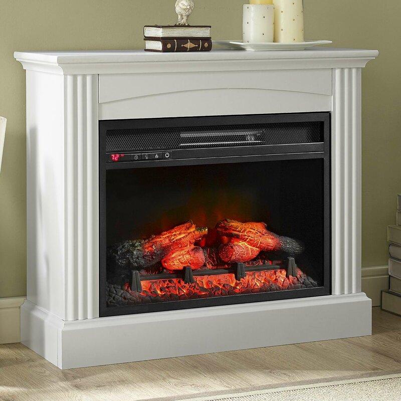 Astoria Grand Gallaudet Electric Fireplace & Reviews | Wayfair