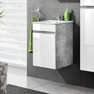 40 cm Wandmontierter Waschbeckenunterschrank Atelier von Belfry Bathroom