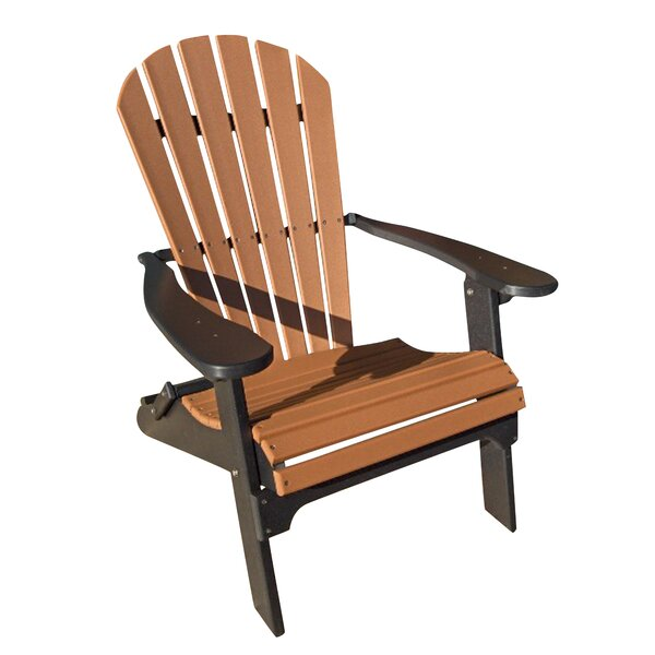 Buyers Choice Phat Tommy Folding Recycled Poly Adirondack Chair U0026 Reviews |  Wayfair