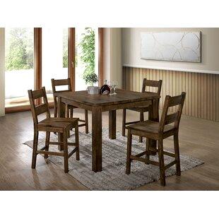 Brickhouse 5 Piece Pub Table Set