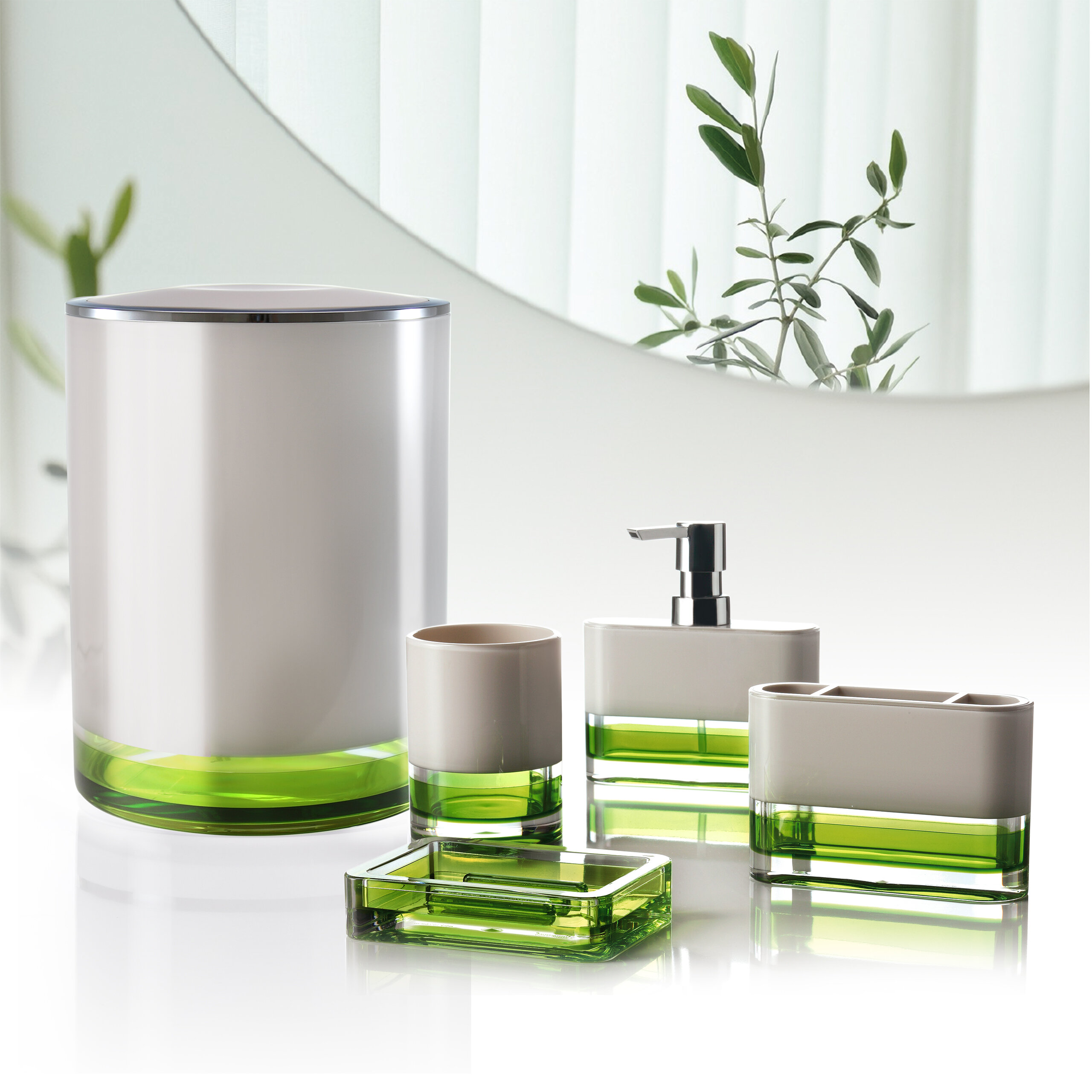 Distributeurs De Savon Finition Vert Wayfair Ca