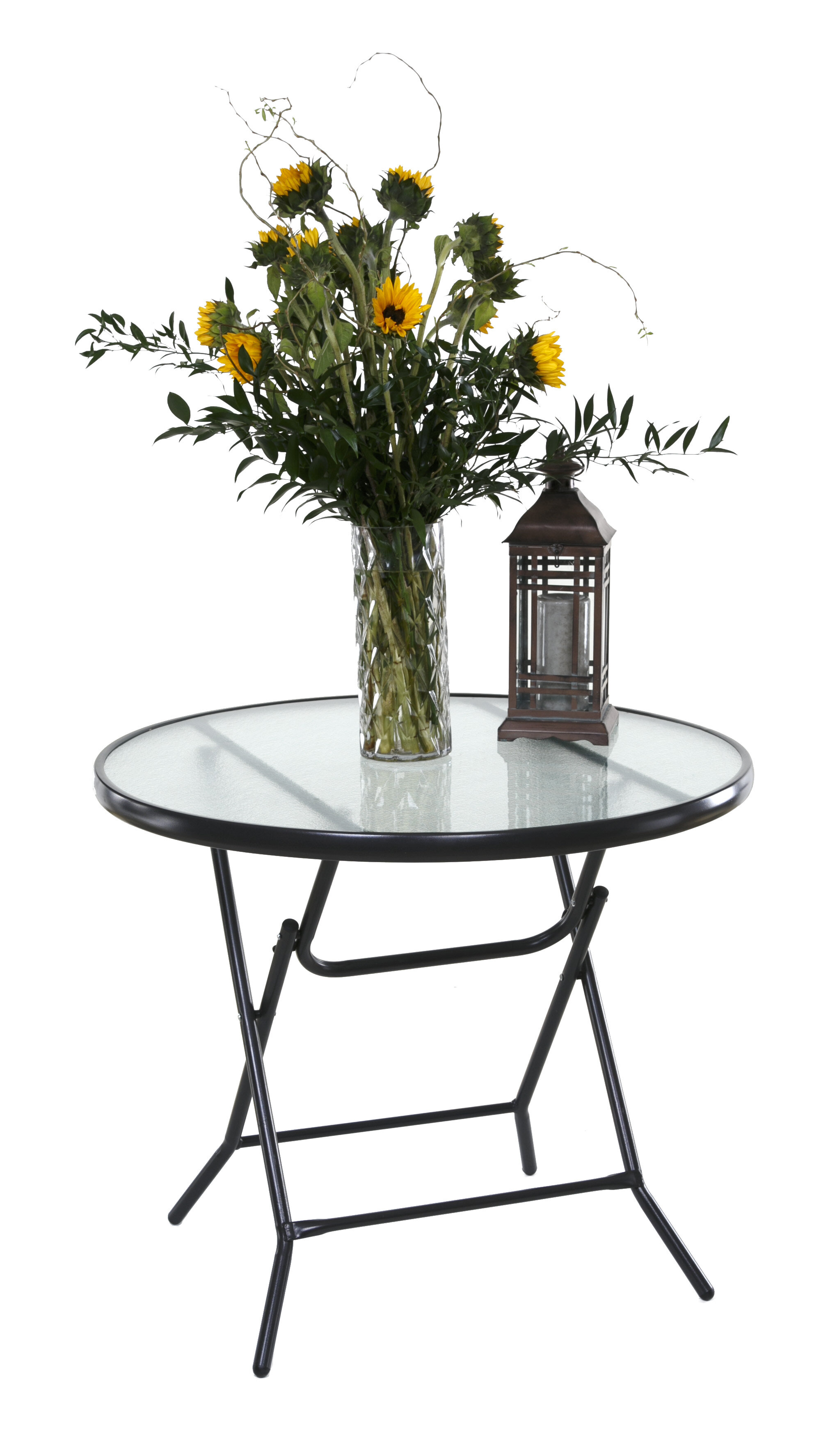 gateleg chairs and ideas decor hammacher the stowable folding of schlemmer table patio