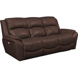 Barrett Leather Reclining Sofa by La-Z-Boy