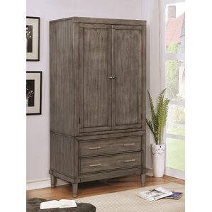 Rutland Transitional Armoire by George Oliver