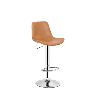 Stamm Unique Hydraulic Adjustable Height Swivel Bar Stool