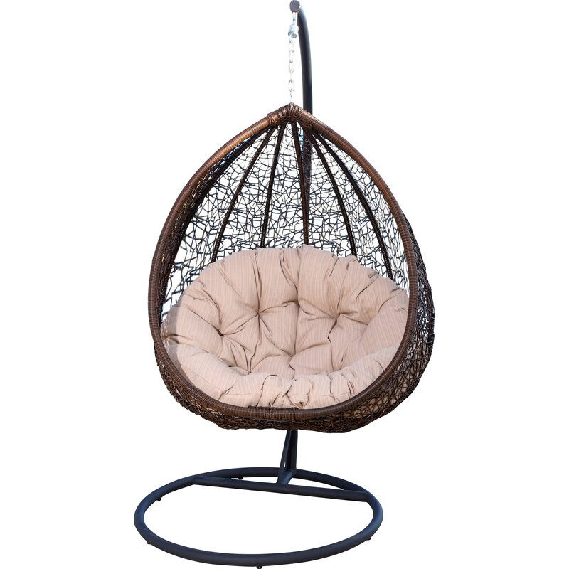 Astounding Ghazali Swing Chair With Stand Onthecornerstone Fun Painted Chair Ideas Images Onthecornerstoneorg