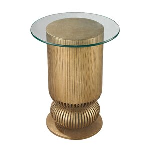 Zaylee Modern Round End Table by Willa Arlo Interiors