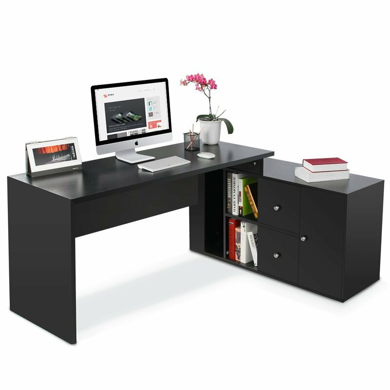 Mat Modern Stylish L Shape Executive Desk