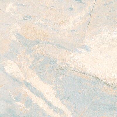 "Pace 32.7' x 20.5"" Carrara Marble Wallpaper"