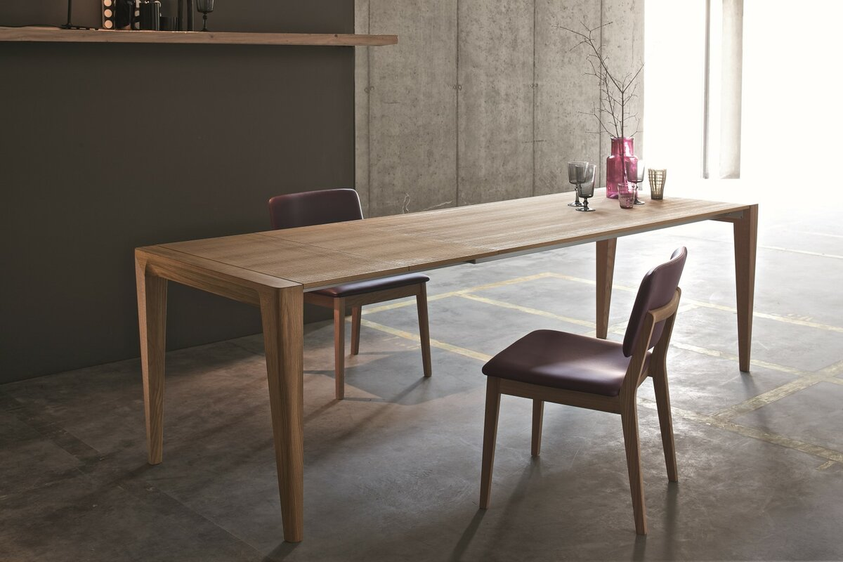 retro extendable dining table - Dining Table Retro