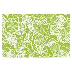 Jacqueline Milton 'Vine Shadow' Floral Doormat