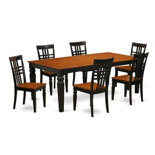 Beesley 7 Piece Wood Dining Set