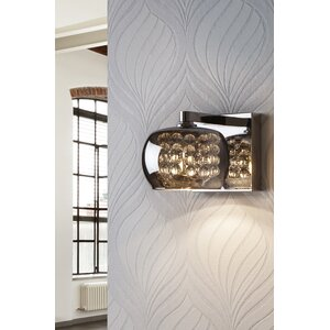 Arian 1 Light Semi-Flush Wall Light