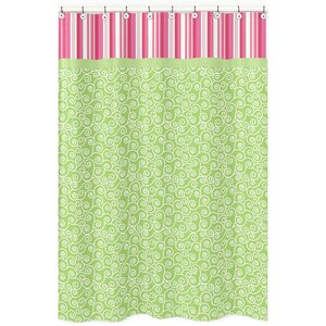 Olivia Cotton Shower Curtain