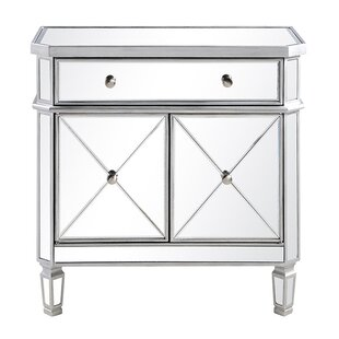 Charmant 1 Drawer Accent Cabinet
