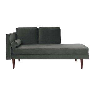 Jabari Mid Century Modern Upholstered Daybed with Mattress